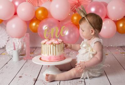 fotografía primer cumpleaños