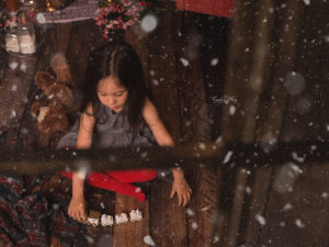 Sesiones infantiles de Navidad