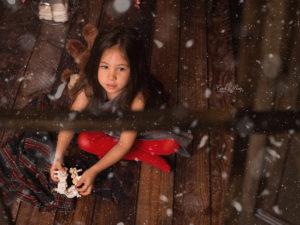 Atrezo de Navidad para fotografías