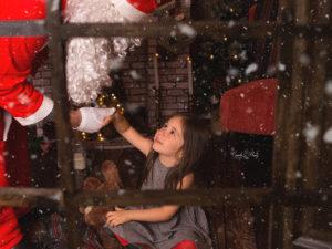 Fotos de niños con papá Noel