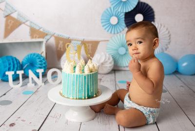 fotografia smash cake